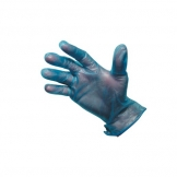 Powder Free Blue Vinyl Gloves Medium (100 pcs)