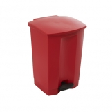 Step-on Bin 68L 50.2X41X67.3CM Red (Sold Singly)