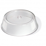 Plate Cover Clear Plastic Round 21cm (Sold Singly)