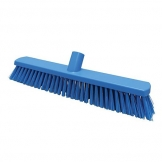 380mm Floor Brush Stiff Blue (Sold Singly)