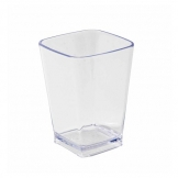 Oblong Polycarbonate Pot 200ml Clear (Sold Singly)