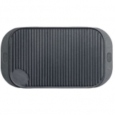 Griddle Black Cast Iron Oblong 48 x 26.5cm (Sold Singly)