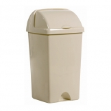 Roll Top Bin 25ltr Linen (Sold Singly)