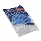 Gloves Natural Rubber Blue Large (Pair) (2 pcs)