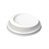 White Lid To Fit 225ml Huhtamaki Hot Cup (Pack of 1000)