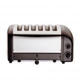 Dualit 60145 6 Slot Vario Toaster - Black (Sold Singly)