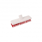 Abbey Hygiene Deck Scrub Head 23cm Red (Sold Singly)