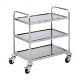 Prepara Self Assembly Service Trolley 3 Tier (Sold Singly)