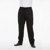 Brigade Chef Clothing Brigade Chef Trousers Black - Size L
