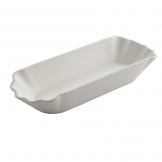 American Metalcraft Melamine Hot Dog Paper Tray 8.1 x 3 x 1.5 Inch