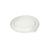 375ml Round Container PET Lid 500 Per Case