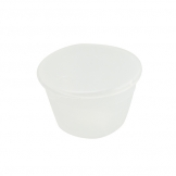 Pudding Basin Polypropylene 28cl 10cm With Lid (Sold Singly)