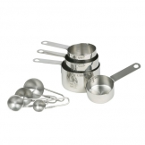Measuring Cup Stainless Steel Set Of 4 (Sold Singly)