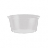 12oz Clear Round Pot (500 Per Case)