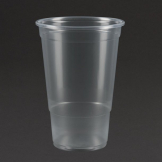 Plastico Disposable Pint Glass 20oz To The Brim (Pack of 1000)