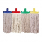 340g Py Prairie Mop With Scourer Yellow (Sold Singly)