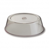Plate Cover Clear Polycarbonate Round 23cm (Sold Singly)