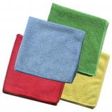 Economy Microfibre Cloth Green (10 pcs)