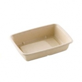 590ml Bagasse Salad Container 300 Per Case