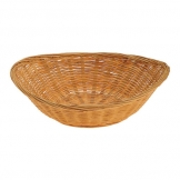 Basket Brown Wooden Oval 23 x 18cm (Sold Singly)