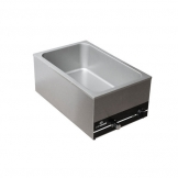 Chefmaster 1/1 GN Wet Well Bain-Marie (Sold Singly)