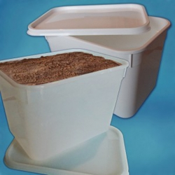 4 litre Ice Cream Container Natural (12 pcs)