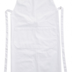 Brigade Chef Clothing Bib Apron White