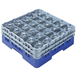 Camrack Glass Rack 25 Compartments Navy Blue (Sold Singly)