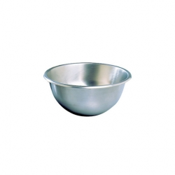 Hemispherical Mixing Bowl 300mm Stainless Steel