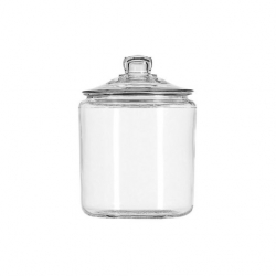 Signature Collection Biscotti Jars Clear Glass 3.8ltr 18.7cm