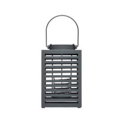 Kitchencraft Living Nostalgia Steel Box Lantern 12 x 19cm
