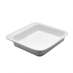 Porcelain Insert For Chafing Dish Square 38cm (Sold Singly)