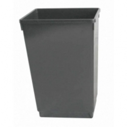48ltr Waste Basket Grey (Sold Singly)