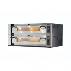 Sirman Double Deck Stone Base Pizza Oven 105 x 70