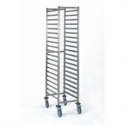 Tournus Equipement Gastronorm Storage Trolley - 20 Tier 1/1GN