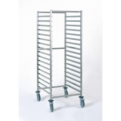 Tournus Equipement Gastronorm Storage Trolley - 17 Tier 2/1GN