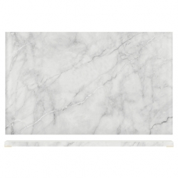 1/1 Gastro White Marble Effect Display Slab