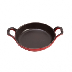 Baking Dish Cherry Cast Iron Round 75cl 20cm (Sold Singly)