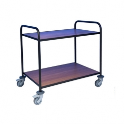EAIS Trolley With Laminate Shelves 2 Tier