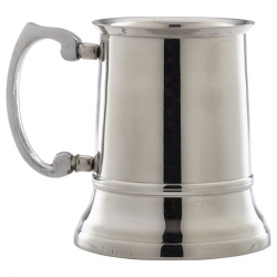 Stainless Steel Beer Tankard 45cl/15.75oz (Sold Singly)