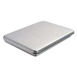Baking Pan With Lid Aluminium 40.9x26.7x3.2cm