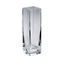 Bud Vase Clear Glass 15cm