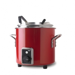 Vollrath Retro Soup Kettle 10.4L - Red