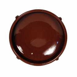 ABS Pottery Natural Terracotta 40cm Round Dish