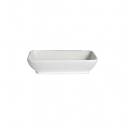 Steelite Deep Rectangle Tray 19 x 14.5 x 4.5cm