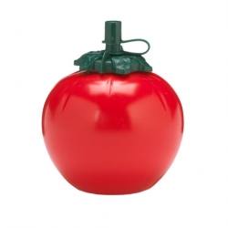 Big Tomato Sauce Bottle Tomato Shape Red Plastic 100cl