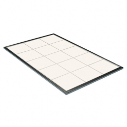 Hot Tile Ceramic White 1/1 Size Gastronorm