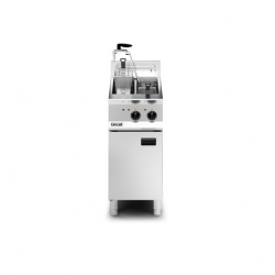 Lincat Opus 800 Single Pump 40cm Twin Tank E-Fryer
