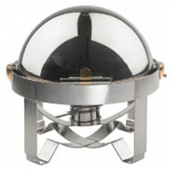 Chafing Dish Stainless Steel Round 40cm (Sold Singly)