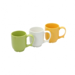 Wade Dignity Mug Yellow Ceramic 25cl
